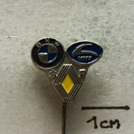 Badge (Pin) ZN003309 - Automobile (Car) BMW / IMV / Renault - BMW