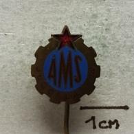 Badge (Pin) ZN003310 - Automobile (Car) Auto Moto Savez Hrvatske AMSJ (Yugoslavia) - Unclassified
