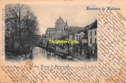 CPA  SOUVENIR DE MALINES  NOTRE DAME DE HANSWYCK - Mechelen