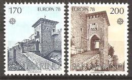 San Marino 1978 // Mi. 1156/1157 ** (024..501) - Ungebraucht