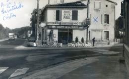 Carte Photo - La Vitarelle  Près Castres - Hotel Restaurant Bigues - Café De La Paix - France