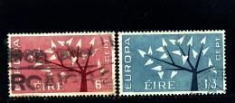 IRELAND/EIRE - 1962  EUROPA   SET  FINE USED - 1949-... Repubblica D'Irlanda