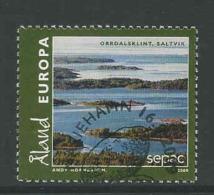 Aland, Mi 317 Jaar 2009,  Gestempeld, Zie Scan - Ålandinseln
