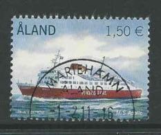 Aland, Mi 338 Jaar 2011,  Gestempeld, Zie Scan - Ålandinseln