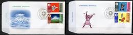 Senegal 1971, Scout, Judo, Vulcan, 2FDC
