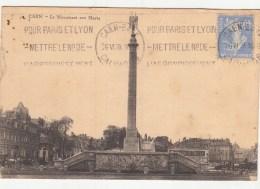 14 - Caen - Monument Aux Morts De La Grande Guerre 1914-1918 - Caen