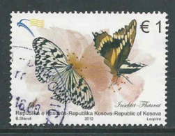 Kosovo, Mi 218 Jaar 2012, Hoge Waarde, Gestempeld, Zie Scan - Kosovo
