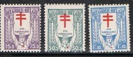 Année 1925 COB 234** à 236**  Antituberculeux - Au Profit Des Invalides De Guerre  - Cote 2,50€ - Belgium
