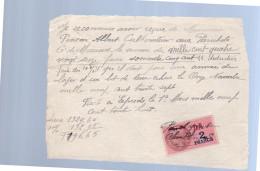 1937 Penson Albert Cultorateur . Parichets G'de Mouroux (259) - Steuermarken