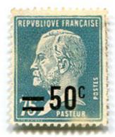 Pasteur Caisse D'amortissement Vert 75 + 50 C - France