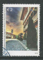 Kosovo, Mi 301 Jaar 2015,  Hoge Waarde, Gestempeld, Zie Scan - Kosovo