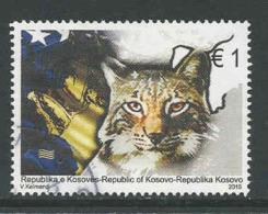 Kosovo, Yv  181 Jaar 2015,  Hoge Waarde, Gestempeld, Zie Scan - Kosovo