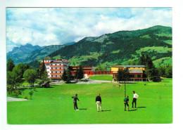 Aun 397  Cpm MEGEVE  : Le Golf      , ACHAT DIRECT !!! - Megève
