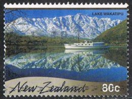 New Zealand SG2337 2000 Scenic Reflections 80c Good/fine Used [31/28067/4D] - Oblitérés