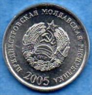 TRANSNISTRIA / TRANSNISTRIE  10 KOPEEK  2005 - Moldavie