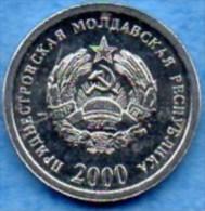 TRANSNISTRIA / TRANSNISTRIE  1 KOPEEK  2000 - Moldavie