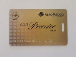MEXICO - AIRLINE CARD - AEROMEXICO - CLUB PREMIER GOLD - Zonder Classificatie