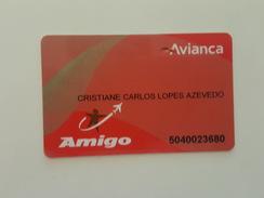 BRAZIL - AIRLINE CARD - AVIANCA - Zonder Classificatie