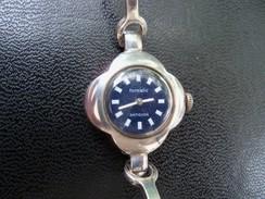 Montre Automatique FORMATIC Bracelet Et Boitier Plaqué Argent. - Watches: Old