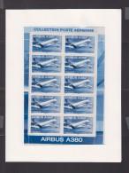 FRANCE 2006-P.A. N°69a** AIRBUS A 380.F69a FEUILLET DE 10 DANS SON EMBALLAGE