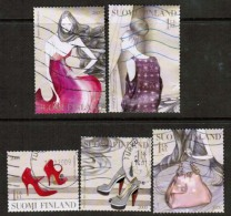 2009 Finland, Fashion, Complete Used Set.