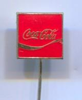 COCA - COLA, Drink, Beverage, Vintage Pin, Badge, Abzeichen, Enamel - Beverages