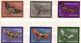 BULGARIA \ BULGARIE  - 1975 - Papillons - 6v ** - Bulgarie