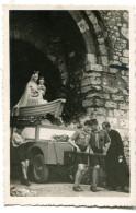Photographie Privée Procession Vierge Marie Scouts Eclaireurs - Personnes Anonymes