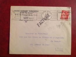 LYON Gare Facture Garage Darchieux - 1921-1960: Modern Period