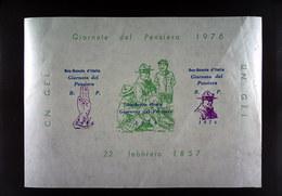 BOY SCOUT GIORNATA DEL PENSIERO 1976 - Scoutismo