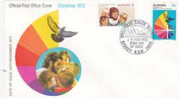 Australia 1972 Christmas FDC - FDC