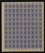 SBZ-Bogen ,Nr.6A Mit IX,xx  (M4) - Sowjetische Zone (SBZ)