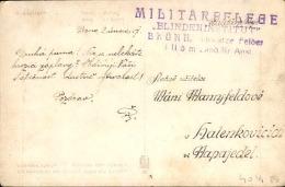 TCHÉCOSLOVAQUIE - Carte Postale En Franchise Militaire De Brunn ( Brno ) En 1917 - A Voir - L 4312 - Tchécoslovaquie