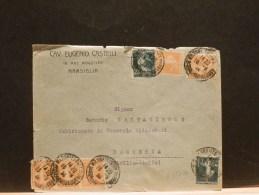 63/440   LETTRE 1924  POUR ITALIE - Marcofilie (Brieven)