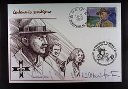 PRINCIPAUTE DE MONACO CENTENARIO SCAUTISMO 2007 - Scoutismo