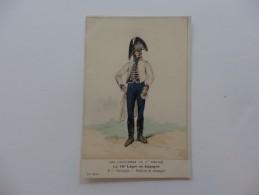 Les Uniformes Du 1er Empire, Le 16 éme Léger En Espagne. Chirurgien-Uniforme De Campagne. Signée E. Fort 1908. - Uniformes