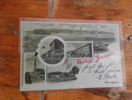 Beograd Belgrade 1898 - Serbia