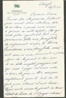 B2V31--  ITALIA,  VARIE,  TIRRENIA  SOC. P. AZ.  DI NAVIGAZIONE,  NAPOLI,   1962,  LETTERA INTESTATA, - Barcos
