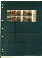 AFRIQUE DU SUD FAUNE THE BIG FIVE 1 CARNET DE 10 TIMBRES ADHESIFS NEUF - Carnets