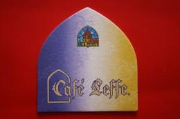 SOUS BOCKS CAFE LEFFE - Sous-bocks