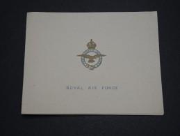 GRANDE BRETAGNE / MILITARIA - Carte De Remerciement De Nouvelle Année De La RAF  - A Voir - L 4326 - Documents