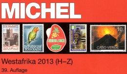 MICHEL West-Africa H-Z Part 5/2 Catalogue 2013 New 74€ Afrika Kamerun Liberia Niger Senegal Mauretanien Leone Togo Verde - Vieux Papiers