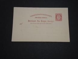 NORVÈGE - Entier Postal Non Voyagé - A Voir - L 4336