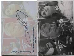 Automobile - Emmanuel COLLARD - Dédicace - Hand Signed - Autographe Authentique  - - Grand Prix / F1