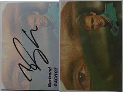 Automobile - Bertrand GACHOT - Dédicace - Hand Signed - Autographe Authentique  - - Grand Prix / F1