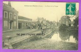 Crecy Sur Serre - Le Pont De La Vierge - Attelage Charrette Cheval - France