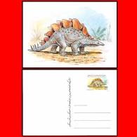 LIBYA - 1996 Dinosaurs Dinosaurier (postcard Postal-stationery MNH) - Stamps