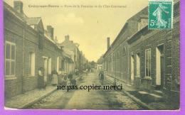 Crecy Sur Serre - Rues De La Fontaine Et Du Clos Gourmond - France