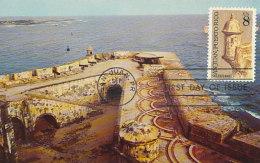 D26277 CARTE MAXIMUM CARD FD 1971 USA - SANTA BARBARA BATTERY SAN JUAN CP ORIGINAL - Architecture