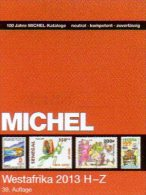 West-Africa H-Z Part 5/2 MICHEL Catalogue 2013 New 74€ Afrika Kamerun Liberia Niger Senegal Mauretanien Leone Togo Verde - Literatur & Software